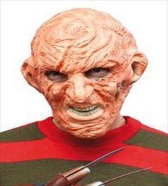 Men/'s Halloween Freddy Fancy Dress Horror Costume Adult Outfit Free P/&P