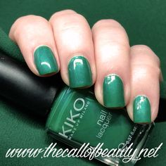 The Call of Beauty: ABC Challenge: #388 Verde Caraibi Kiko