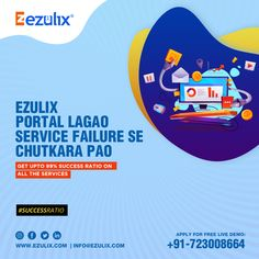 Ezulix advanced b2b software portal is based on latest technology & offers 99% success ratio on all services. For more details call now. +91 72300-86664 Web Application Development, Mobile Application, Design Development, Software Development, Business Software, Competitor Analysis, Latest Technology, Portal, Web Design