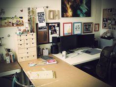 studio by oh.amanda, via Flickr