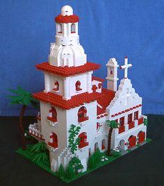 Lego ca mission lego california mission for 4th grade project more