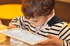 Niño, Tablet, Tecnología, Equipo, Tecnología Del Equipo