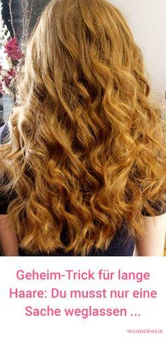 Du möchtest, dass deine Haare schneller wachsen? Dann lass diese Sache weg!