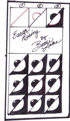 Zen-doodling With Bettie Lake: Earth Rising