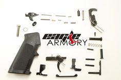 Stag Arms AR 15 Lower Parts Kit, Left Handed Selector