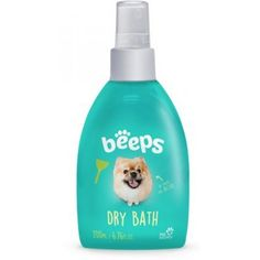This dry dog shampoo bath spray is perfect for freshening up your dog without water of a bath. It promotes a shiny and smooth coat that is free of tangles. It leaves a pleasant and light melon scent. No rinse is needed, just spray in between baths or on the go. Safe for dogs over 4 weeks old. Size: 6.76 oz. Dry Dog Shampoo, Pet 5, Dog Hotel, Yorkie, Baths, Leaves, Hampers, Dog Stuff, Product Design