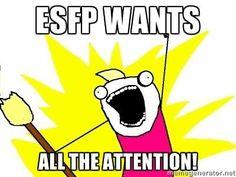ESFP...oh dear...fighting it so hard...