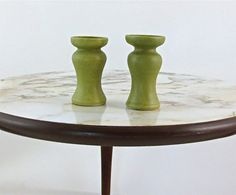 Candle Sticks / Bud Vases by Ellis Ownby / Pigeon Forge / Set of Two / Mid Century Art Pottery