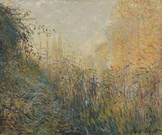 Claude Monet (1840-1926), Étude de joncs, Argenteuil, 1876, huile sur toile, 54x65cm.