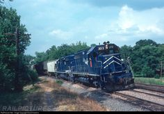 RailPictures.Net Photo: MP 3013 Missouri Pacific EMD SD40 at Webster Groves, Missouri by David Hawkins