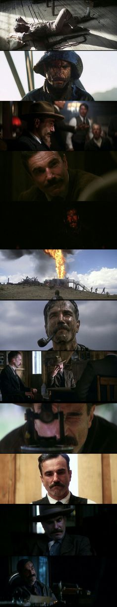 Daniel Day Lewis as power hungry oilman Daniel Plainview in There will be blood(2007) Director:  Paul Thomas Anderson.