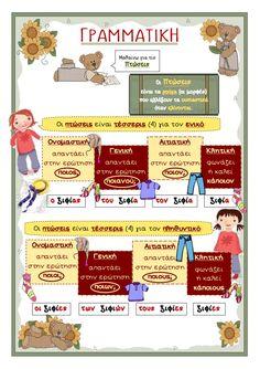 που λες, είδα... 5 Early Education, Special Education, Learn Greek, Greek Language, School Levels, Special Needs Kids, School Lessons, Kids Corner, Speech Therapy