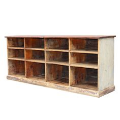 Country Store Counter w/ Cubbies, USA circa 1930