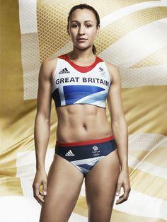 Team GB Kit Modeled By Jessica Ennis - Stella McCartney For Adidas