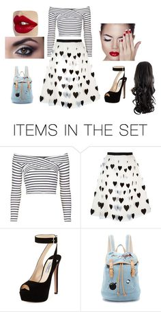 """""""Sin título #106"""" by katherine-molinabts on Polyvore featuring arte"""