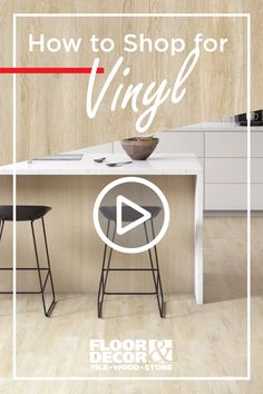 Vinyl flooring isn't what it used to be. Today, you can find vinyl floors in designs that are bigger and better, but still provide stability and durability at an affordable cost. Find out which vinyl fits your home's needs. Painted Floors, Floor Decor, Home Reno, Vinyl Flooring, Diy Projects To Try, House Painting, Stability, Remodeling, Advertising