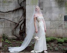 Off White Veil, Wedding Veil, Simple Veil, bridal #weddings #accessories @EtsyMktgTool http://etsy.me/2g7nrZU