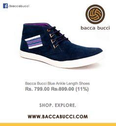 Blue Color Shoes
