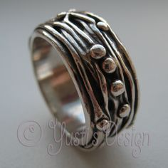 Zilverklei Ring   Silver Clay Ring