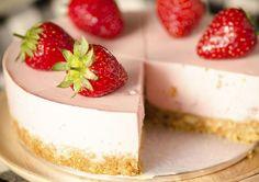 Hoe maak je aardbeienkwarktaart