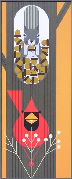 Purchase Charley Harper - October Edibles at Gallery One