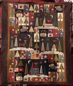 Block of the Month (BOM) Patterns | Jan Patek's Store: Sleigh bells