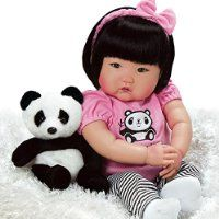 Paradise Galleries Asian Baby Doll, Realistic Lifelike Bamboo, 20 inch Weighted Chinese Baby in Vinyl