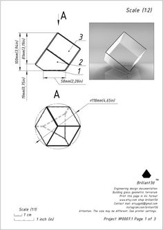 This is a printable scheme for manufacturing a geometric polyhedron truncated cube in Tiffany styles. Ehe size height - inch width - inch Large form is available in my shop link - Origami Shapes, Stained Glass Lamp Shades, Math Projects, Cardboard Art, Glass Terrarium, Glass Boxes, Geometric Shapes, Geometric Decor, Tiffany