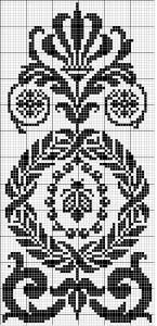 Other 12 | Free chart for cross-stitch, filet crochet | Chart for pattern - Gráfico