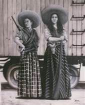 la rielera - women in the Mexican Revolution