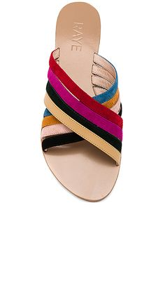 Shop for RAYE Silvie Sandal in Rainbow Multi at REVOLVE. Free day shipping  and returns 655f5e2f58b