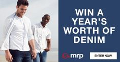 WIN A YEAR'S WORTH OF DENIM - ENTER NOW #ad