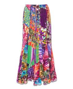 Soul Sister Patchwork Skirt
