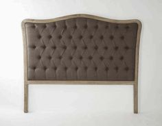 http://beautifulhomestore.com/tuheinnachbr1.html    Maison Tufted Headboard in Natural Chocolate Brown Queen Size by Zentique - Free Shipping  Item#: ZENCL042QueenE272A008