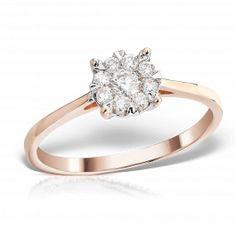 <p>Inel aur cu diamante</p>