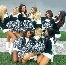 eagles cheer - Google Search Philadelphia Eagles Cheerleaders, Nfl Philadelphia Eagles, Lincoln Financial Field, High Intensity Cardio, Nfc East, Flexibility Training, Fly Eagles Fly, Hot Cheerleaders, Dance Choreography