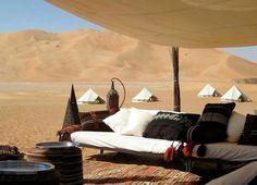 Desert camp - Oman