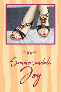Sommersandale Joy mit dekorativen Perlen für Damen ☀💦  Sommerliche Sandale mit weichem Gel-Fussbett ohne Zehentrenner. Dank dem   elastischen Fersenband sehr angenehm auf der Haut zu tragen. Wie auf Wolken schweben!  Jetzt online bei schwesternuhr.ch bestellen - Ohne Versandkosten! Schweizer Unternehmen.  #schwesternuhrch #schwesternuhr #schwesternschuhe #sandalen #sommersandalen #sommer Birkenstock Mayari, Sandals, Shoes, Fashion, Beautiful Sandals, Comfortable Sandals, Comfortable Shoes, Hiking Supplies, Levitate