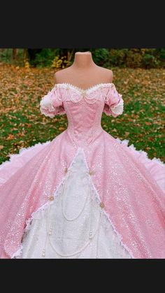 Nephi Garcia, Ariel Pink Dress, Fancy Dress, Dress Up, Ariel Cosplay, Sweet Sixteen Dresses, Tudor Fashion, Japanese Costume, Character Inspired Outfits