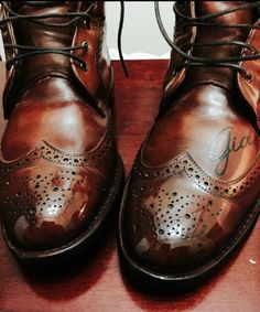 I'm honored that my boots made the Allen Edmonds web sight.