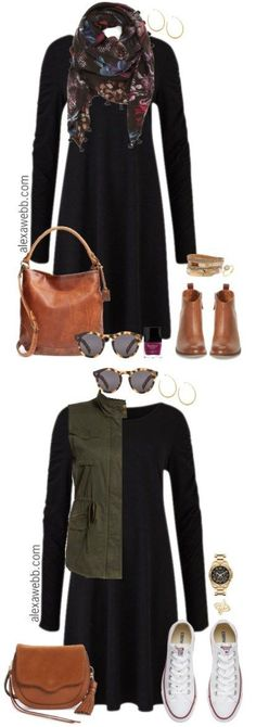 Plus Size Swing Dress Outfits - Plus Size Fashion for Women - Plus Size Casual Outfit - alexawebb.com