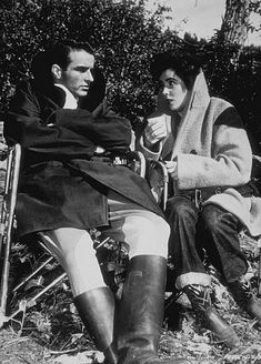 """""""A Place in the Sun"""" Elizabeth Taylor and Montgomery Clift 1951.."""