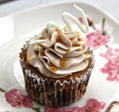 Caramel Macchiato Cupcakes 2