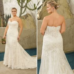 c74452816b7bf Varying scales of lace combine in a unique way across the strapless
