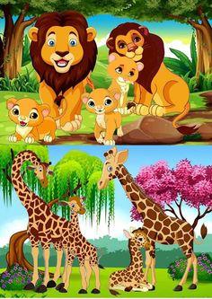 Diy Outdoor Furniture, Cute Animals, Wild Animals, African Animals, Scooby Doo, Pikachu, Preschool, Pictures, Fictional Characters