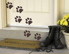 #Wandtattoo Hund Katze No.87 Pfötchen #tiere #animals #katzen #hunde #cats #dogs