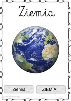 Sistema Solar, Science For Kids, Activities For Kids, Learn Polish, Aa School, Life Cycles, Solar System, Concept Cars, Kids Learning