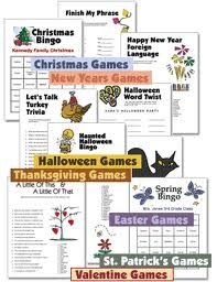 partysupplieshut.com   - Printable Holiday Party Games