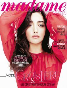 "Golshifteh Farahani en cover de ""Madame Figaro"" du 7 février 2013"