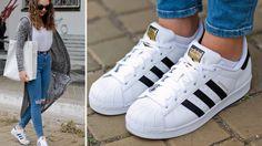 new concept 016ef 392a4 Zapatillas Adidas Blancas, Invierno 2016, Adidas Mujer, Calzas, Blanco,  Famosos, Adidas Superstar, Zapatos De Vestir, Argentina
